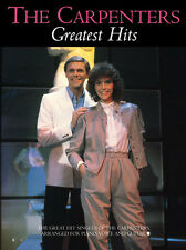 The Carpenters Greatest Hits Learn to Play Pop Piano Vocal & Guitar Music Book