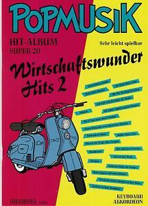 Akkordeon-Keyboard-Noten-Wirtschaftswunder-Hits-2-SCHLAGER-leMittel