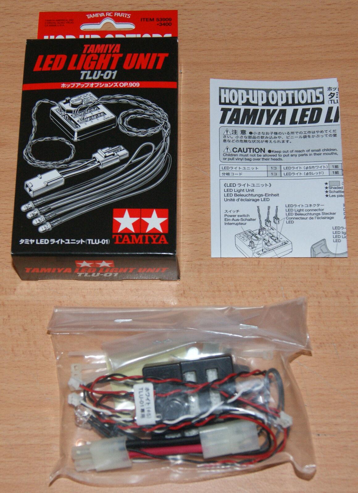 Tamiya 53909 LED Light Unit (TLU-01) (TT01 TT01D TT01E TT02), NIB