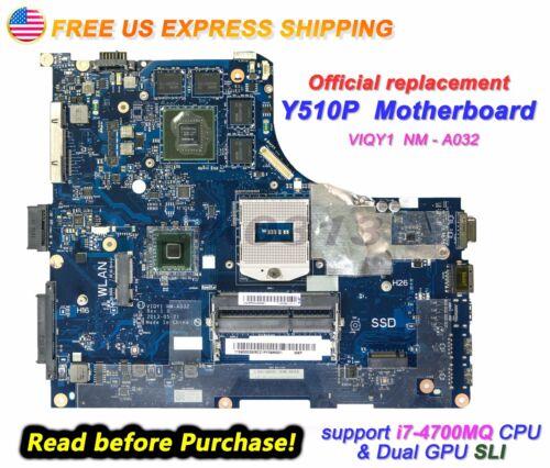 New Lenovo Ideapad Y510P 20217  VIQY1 NM-A032 N14P-GT1-A2 GT755M 2GB Motherboard