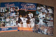 2012 2013 2014 Detroit Tigers ALDS SGA Magazine Commemorative Program Comerica !