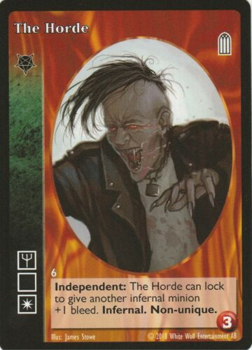 The Horde x1 Baali Heirs to the Blood Reprint 1 HttB R1 VTES Jyhad