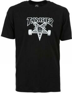 Thrasher-Skategoat-T-Shirt-Black