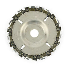 EZ install 4 Inch 22 Tooth Fine Cut Grinder Disc and Chain - 5/8 Inch Arbor