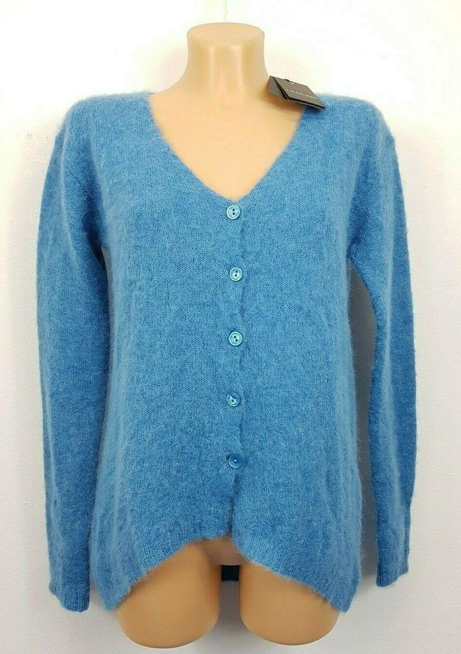 12) diseño de lujo twinset chaqueta de punto  Cochedigan talla s nuevo PVP 179   lana alpaca  punto de venta barato