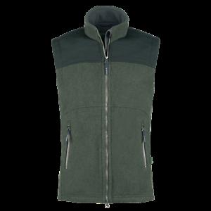 X-Jagd Jagdhund - Softshell Vest Chester - Cordura - Green - Wind Waterproof