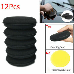 12x-Waxing-Polish-Foam-Sponge-Wax-Applicator-Cleaning-Detailing-Pads-for-Car-New
