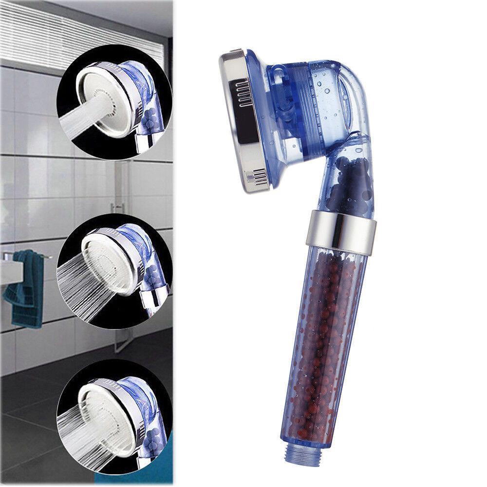 Bain Tête De Douche haute pression 300% à Turbocompresseur Eau Ionique Santé Filtre UKES