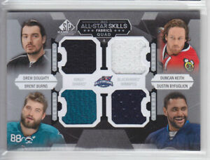 2015-16-UD-SPGU-DOUGHTY-KEITH-BURNS-BYFUGLIEN-ALL-STAR-JERSEY-QUAD-SP-GAME-USED