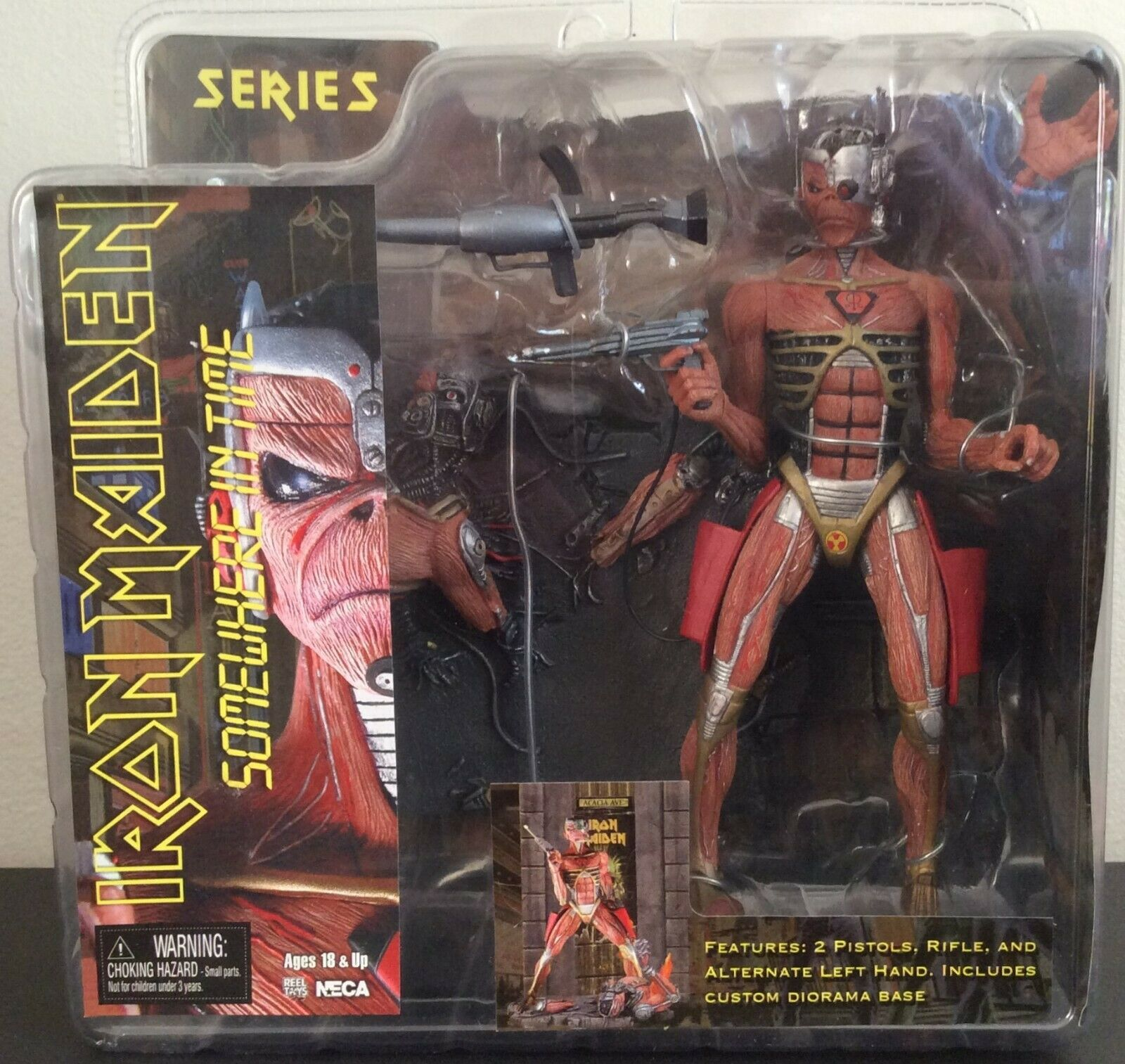 IRON MAIDEN SOMEWHERE IN TIME    NECA    MINT    Sealed Unopened   2005