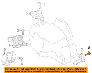 Terrific Fiat Oem 12 13 500 Engine Motor Transmission Transmission Mount Bolt Wiring Cloud Nuvitbieswglorg