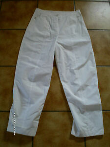 grande lagenlook pantaloni bianco da parte Black Label Rundholz gr m sogno X0Z1nwq