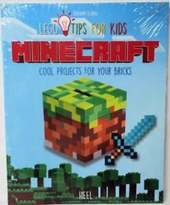 Details About Minecraft Lego Tips For Kids Building Block Instruction Book New Sealed