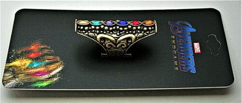 Ornate Marvel Comics Avengers End Game Thanos Infinity Stones Ring New NOS Box