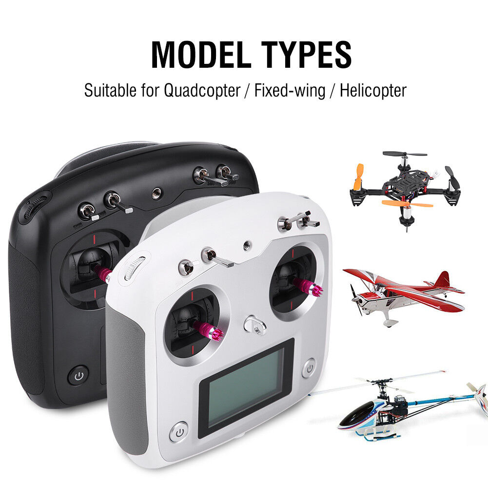 FS-i6s Flysky AFHDS 2.4G 10CH Radio Transmitter&FS-iA10 Receiver for RC Drone