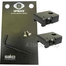 Optilock S1800916 Rifle Bases for Weaver Picatinny Base