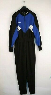 Neu ADIDAS TRAINING ANZUG Jogging Track Jump Suit Vintage zu