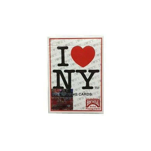 BICYCLE I LOVE NY PLAYING CARDS DECK NEW YORK CITY SEALED PACK