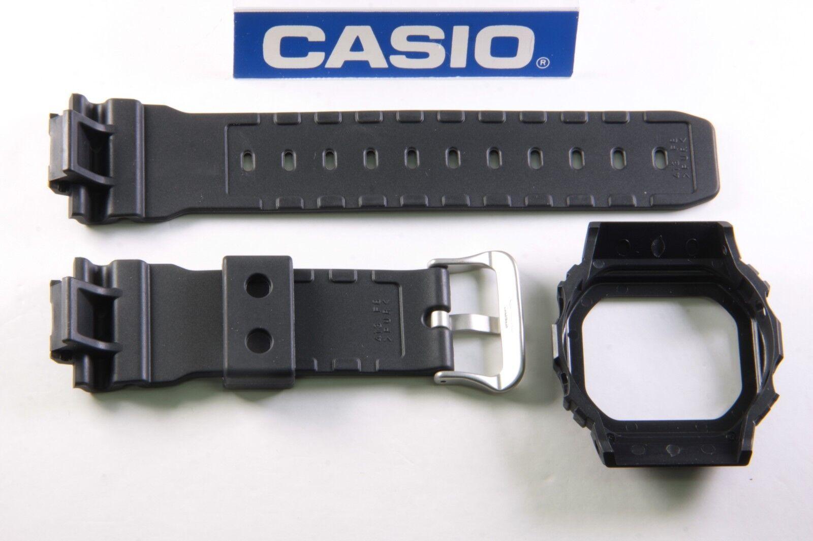 5def0f46a1416 Casio G-Shock DW-5600SL-1 New Band Bezel Combo Black Slash Pattern ...
