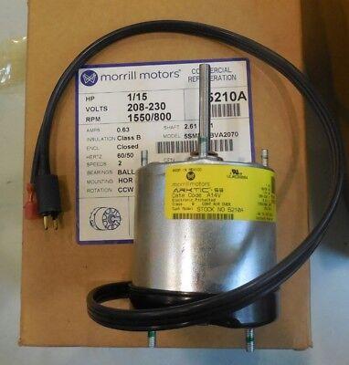 Morrill 5 Watt Cast Iron Unit Bearing Motor Direct For Hill SPB5EM1 By Packard