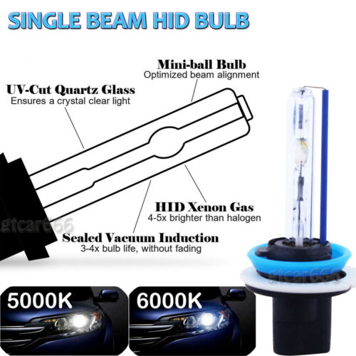 H9 H11 9005 Xenon HID Headlight Kit High Low Beam for Nissan Sentra Pathfinder