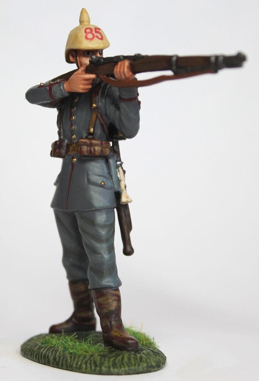 Empire Miniatures WW1 W1-1425 German 84th - 85th Infantry Standing Firing No. 1