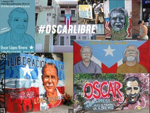 35 ALBIZU 2016 OSCAR LOPEZ RIVERA San Sebastian PUERTO RICO Boricua Activist PIP