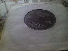 "Nazareth - Love Leads To Madness /Take The Rap(7"" single) NIS 101 1982"