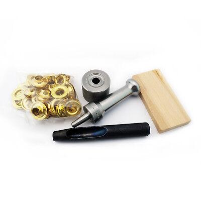 C.S 1//4 Hole Osborne Set-It-Yourself Grommet Kit K231-0 W//Nickel Grommets