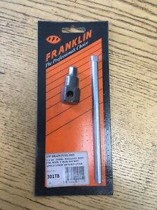 "Franklin Tools 3/8"" Inch HEXAGON Male Drain Plug Key (301TB)"