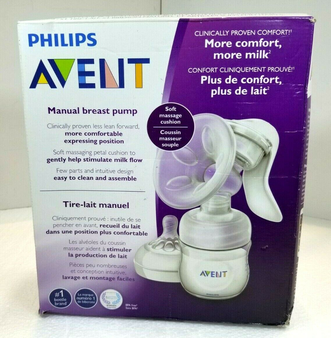 Philips Avent Scf330 20 Manual Natural Breast Pump Bpa Post For