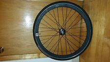 IMINUSD Deep-V Track Front Wheel 700c with continental ultra gatorskin velocity
