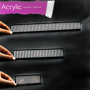 Aquarium-Fish-Comb-Bar-Acrylic-Bar-Drip-Plate-overflow-Fish-Fence