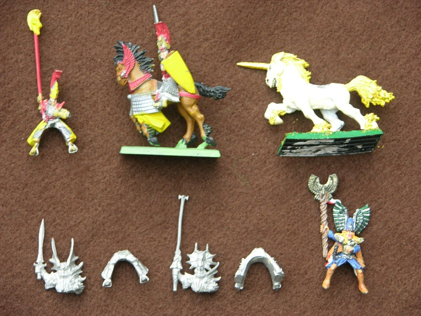 WHFB HIGH ELF MOUNTED CHARACTERS, RIDERS & MOUNTS MULTI-LISTING