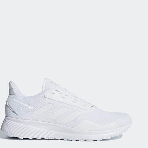 Adidas B96580 mannen Duramo 9 hardlopen schoenen witte sportschoenen