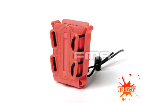 FMA Airsoft Soft Tactical Scorpion Mag  Shell Single Pouch 45 Pistol Mag Carrier