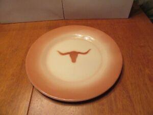 Vintage Large Enamelware Southwestern Texas Longhorn Steer 12 Plate Serving Tray Ebay