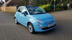 2012-Fiat-500-Lounge-1-2-69bhp-Blue-Panoramic-Roof