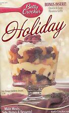 HOLIDAY BETTY CROCKER COOKBOOK DECEMBER 2003 #203 HOT BUTTERED RUM CHEESECAKE