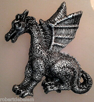 DRAGON - silicone mould - sugarcraft, fimo, polymer clay, resin mold