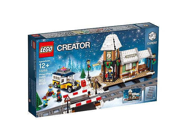Lego Expert Creator 10259 estación invernal invierno Village Station