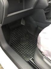 2 x Front Volkswagen VW Caddy Van 2005-2015 Rubber Tailored Van Mats Floor Mats