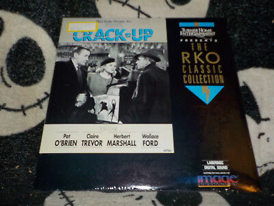 100% Wahr Crack-up Neu Originalverpackt Laserdisc Ld Rko Klassisches Pat O'brien Gratis