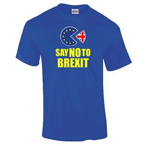 Anti-Brexit-Neuf-Vote-Peoples-Mars-Ue-Europe-Pack-Exit-Homme-T-SHIRT-S-XXL