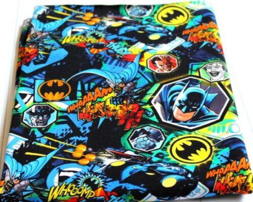 Stoff Batman Sommersweat Handmade Sweat