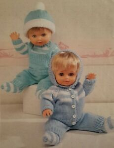 29477be9211202 Knitting Pattern DOLL039S PRAM SET Baby Clothes 12 22 034 in Double  Knitting DK - Maidstone