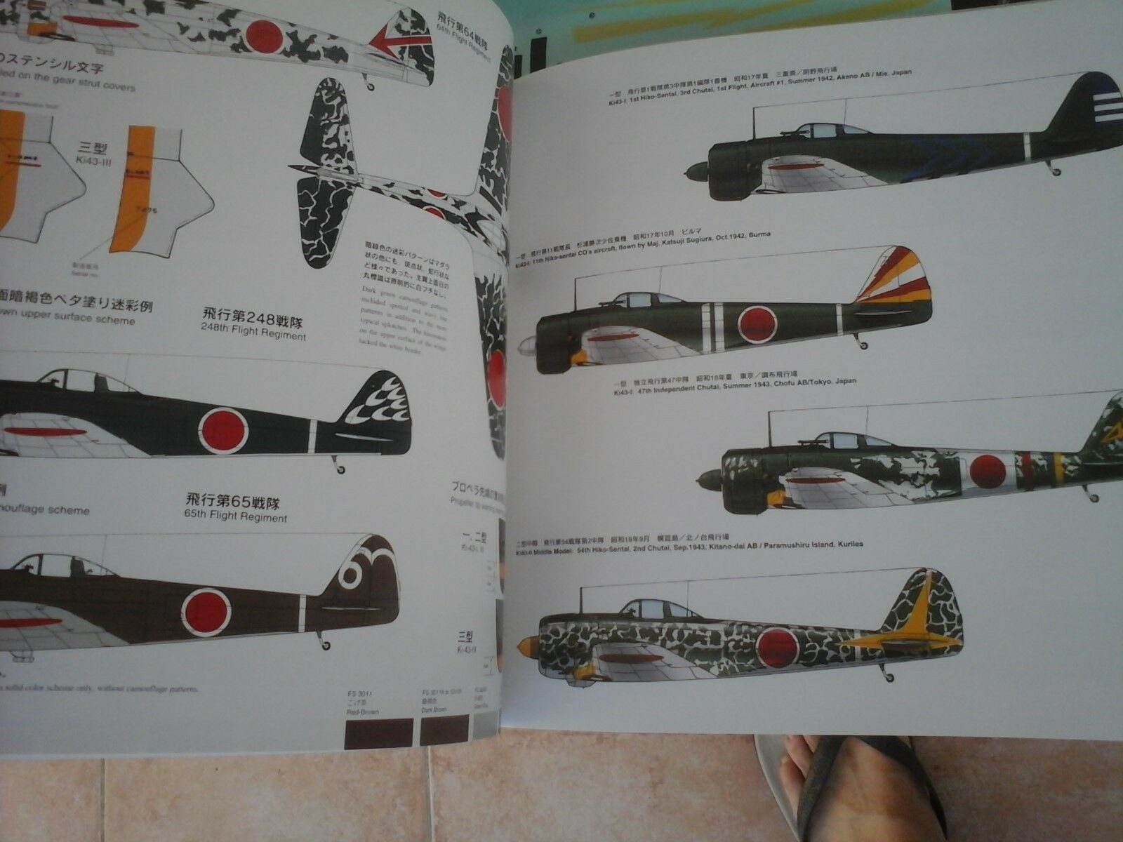 AERO DETAIL N.29 NAKAJIMA KI 43II 43II 43II HAYABUSA  OSCAR  -BY SHIGERU NOHARA-MODEL GRAP 212a50