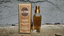 NIB L'Occitane Eau D'Iparie EDT Perfume Myrrh et Encens 0.7oz, immaculate!