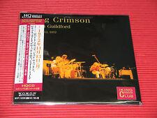 KING CRIMSON Live In Guildford, November 13th, 1972  JAPAN MINI LP HQ CD