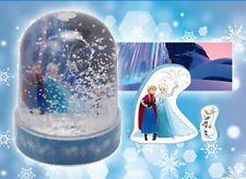 Frozen Disney Arendale Mini PVC Crystal Snow Globe Dome Anna Elsa Olaf Fractals